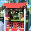 Minnie Mickey Mouse Feliz Aniversário Bandeira Bandeiras Bunting DIY Fotografia Favores Do Partido Decoração Festa de Aniversário Do Chuveiro de Bebê