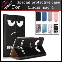 Smart Tablet Fundas For Xiaomi Mi Pad 4 8.0 Inch PU Painting Magnet Sleep Cover Stand Case For Mipad 4 Protective Cover Coque leather case for xiaomi mi pad 4 mipad4 8 inch tablet case stand support for xiaomi mi pad4 mipad 4 8 0 case cover two style