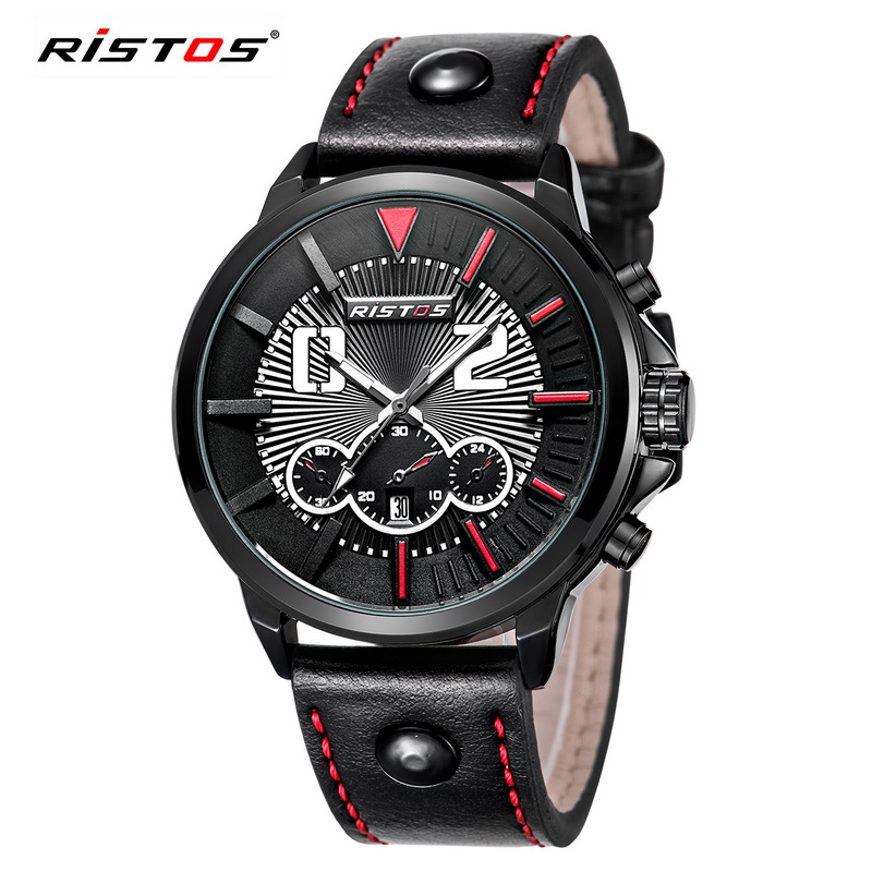 Fashion Brand Watch Ristos Men's