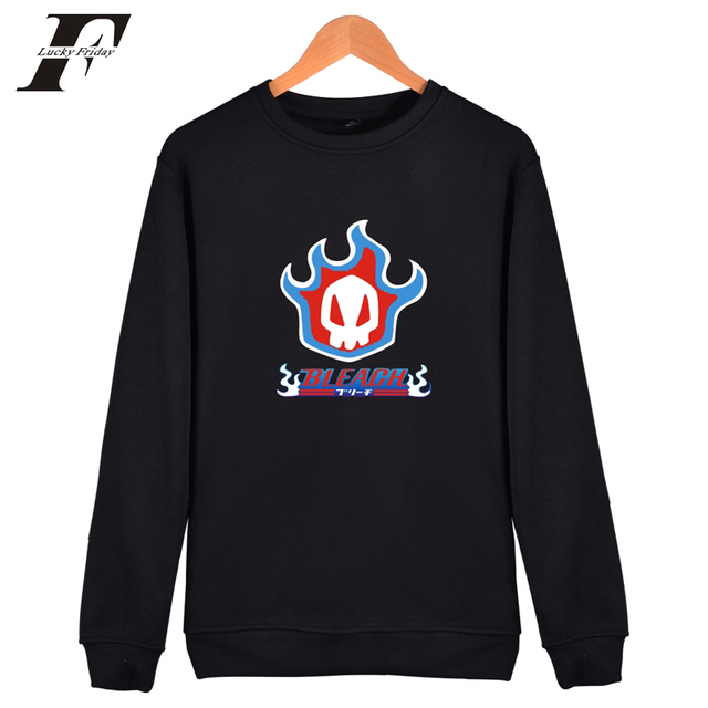 2e74a21cf30a3 LUCKYFRIDAYF Bleach hoodie Sweatshirt Men women Anime Funny Hooded winter  Autumn Fashion Mens Hoodies And Sweatshirts 4xl