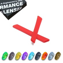 ToughAsNails Polarized Replacement Lenses & Red Ear Socks for Oakley Jawbone Vented Sunglasses - Multiple Options цена