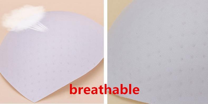 10 pairs/lot Removable Bra Pads Foam Push Up Bra Cups Swimsuit Padding Inserts Bikini Breast Lifter Black Nude Free Shipping 15