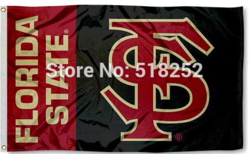 FSU Seminoles Flag 3x5 FT 150X90CM Banner 100D Polyester flag brass grommets 036, free shipping