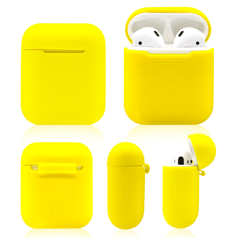 Premium Silicone Cover Skin Charging Soft Case Headphone