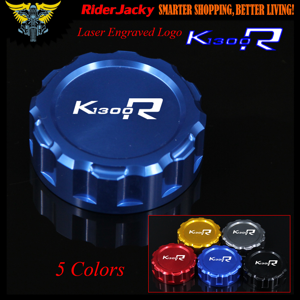 CNC Blue Red Black Golden Titanium Motorcycle Rear Brake Reservoir Cover Cap For BMW K1300R K1300 R 2009 2010 2012 2013 2014 car rear trunk security shield shade cargo cover for nissan qashqai 2008 2009 2010 2011 2012 2013 black beige