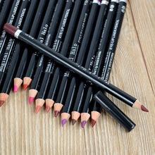 Карандаши xmas hot губ профессиональный ручка цвета водонепроницаемый
