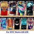 Casos de telefone celular para htc desire 626 durável 628 cobre 626 w 626D 626G 626 S Tampa da caixa Da Pele de Plástico Rígido Shell Anti-Skid Capa