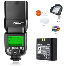 Godox  VING V860II N 2.4G TTL Li-on Battery Camera Flash Speedlite for Nikon D800 D700 D7100 D7000 D5200 D5100 D5000 D300 D300S цены онлайн