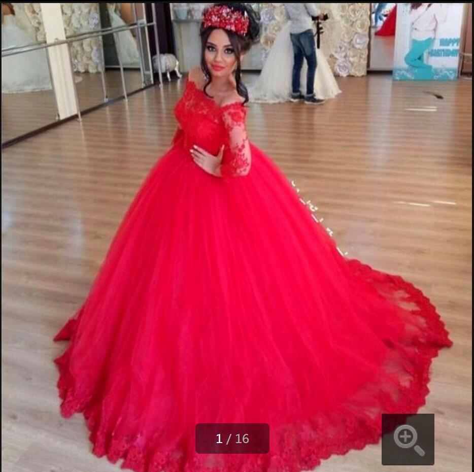 Платья принцесс красный