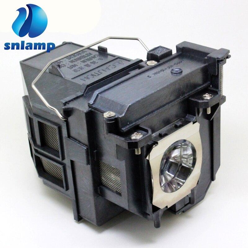 Ampoule de projecteur de haute qualité avec boîtier pour Epson ELPLP79/ELPLP80 pour PowerLite 570 575 W 580 585 W BrightLink 575Wi 585Wi