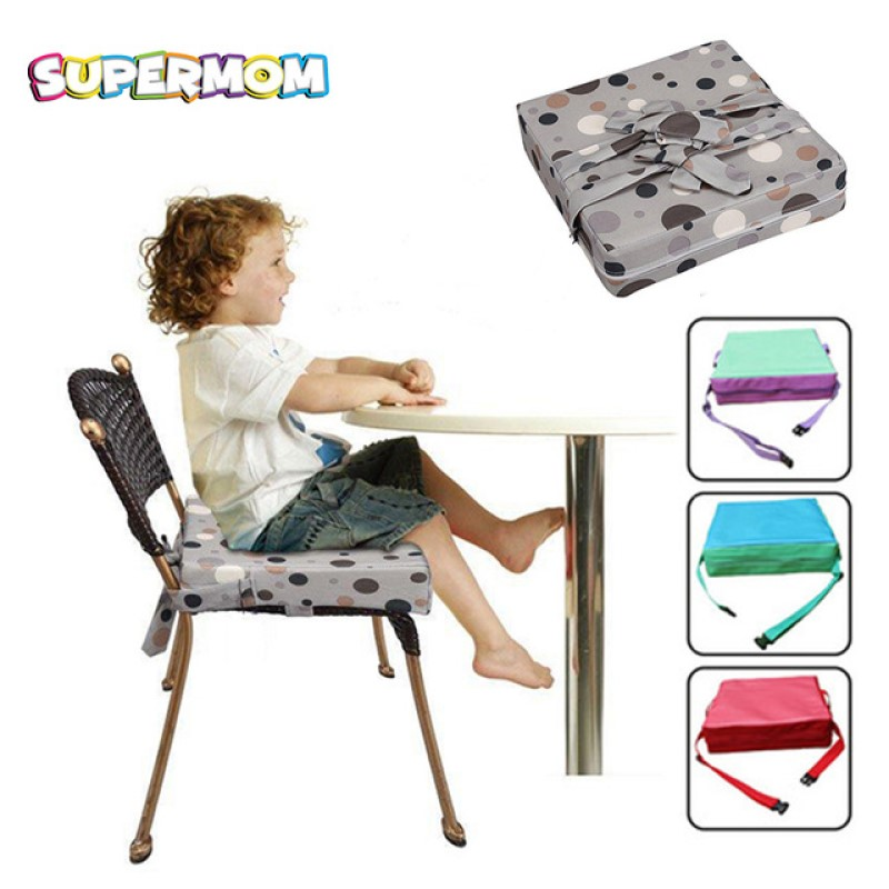 Baby Booster Seats Cushion Increased Height Children High Chair Cover Pad Dinning Chair Soft Leather Cushion Thicken Pad