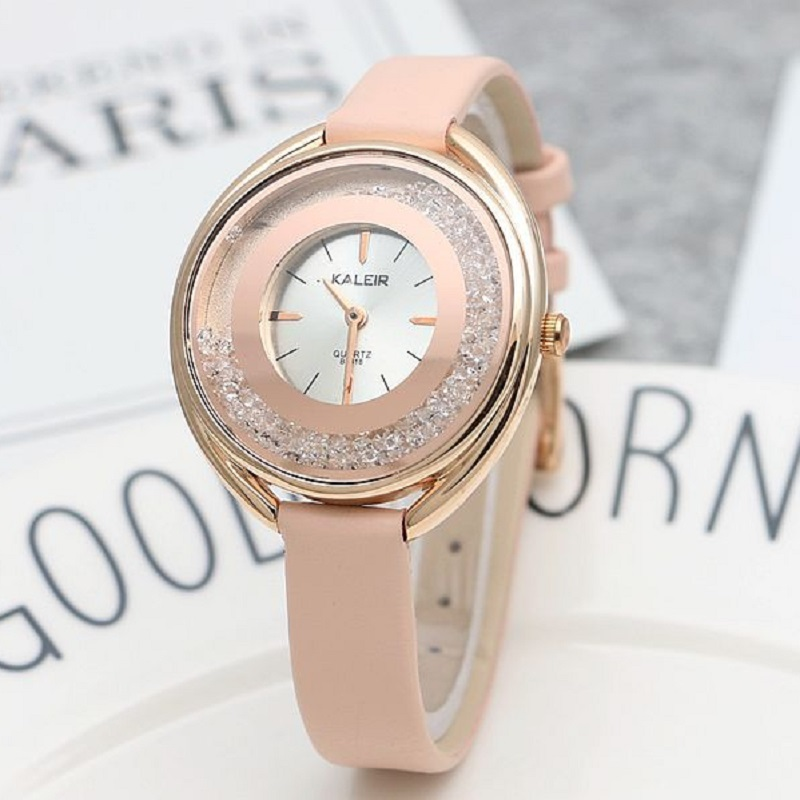 New Color diamond watch simple women watches fashion trend ladies watch waterproof leather retro girl table Dropshipping!