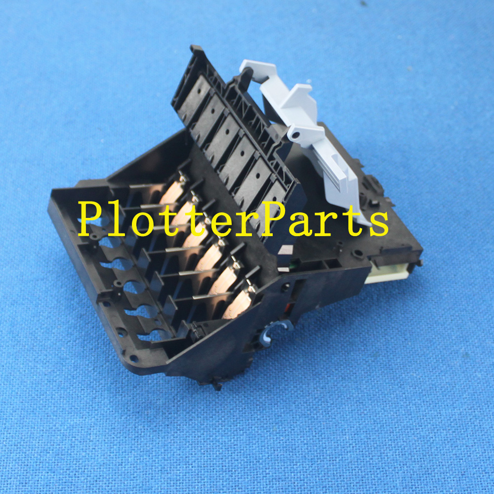 Carriage assembly for HP DesignJet 70 100 110 HP Business InkJet 2600 C7796-60022 C7796-60077 plotter part used cq893 60077 trailing cable for hp designjet t520 plotter part 36inch a0 compatible new
