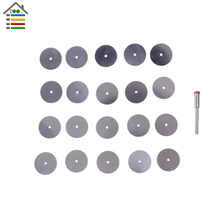 20PCS 22mm Steel Wood Cutting Disc Cut Off Wheel Circular Saw Blades Cutter Dremel Rotary Craft