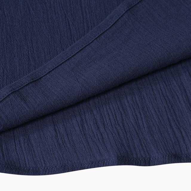 Boho light long cuff shoulder dress 6