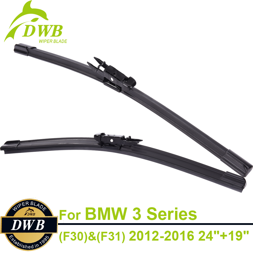 Wipers blades for bmw 3 series f30 saloon f31 touring 2012