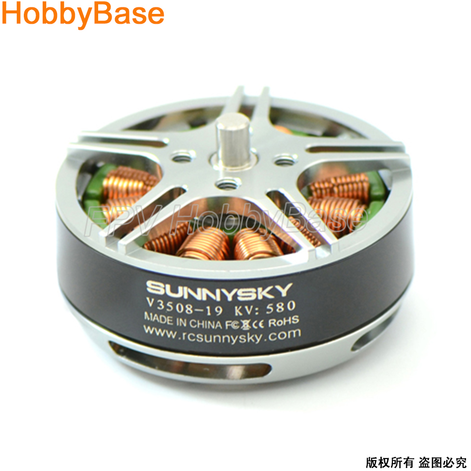 цена на 1pcs New Original SUNNYSKY V3508 380kv 580kv 700kv Brushless Motor for RC Multicopter
