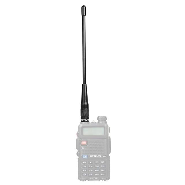 Retevis RHD-701 SMA-F VHF UHF Antenna For Walkie-talkie 20cm 2dBi Accessories For Kenwood Baofeng UV5R UV82 Retevis RT5R For HYT 3