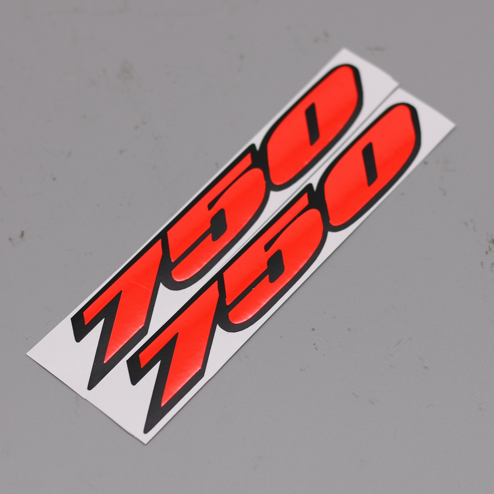 Tank Stickers Protector Decal Emblem Fit For Suzuki GSXR250//600//750//1100 New Red