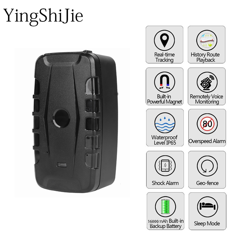 Yingshijie Location-Monitoring Gps-Tracker Strong-Magnet 20000ma WCDMA GSM 3G Car Oil-Off-Power