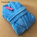 Roupões de banho de pano de terry do algodão Roupa de Dormir de cetim Decorativa Obes Para As Mulheres