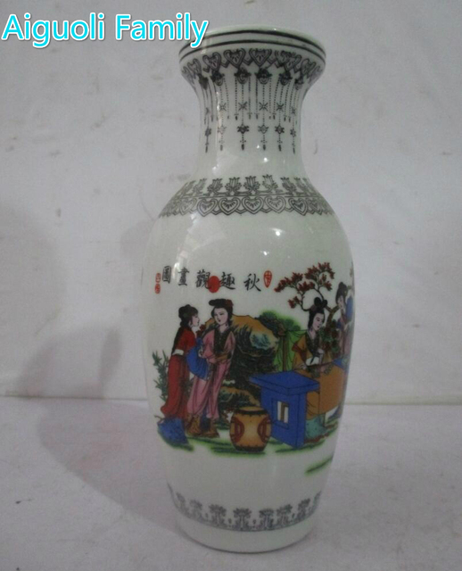 High 10 Inch Christmas Decorations Vase Ceramics Vases For Home