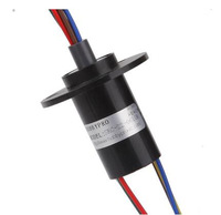 High Current Slip Ring 2 3 4 6 Channel 10A Electrical Colleting Rings Slipring 1pc