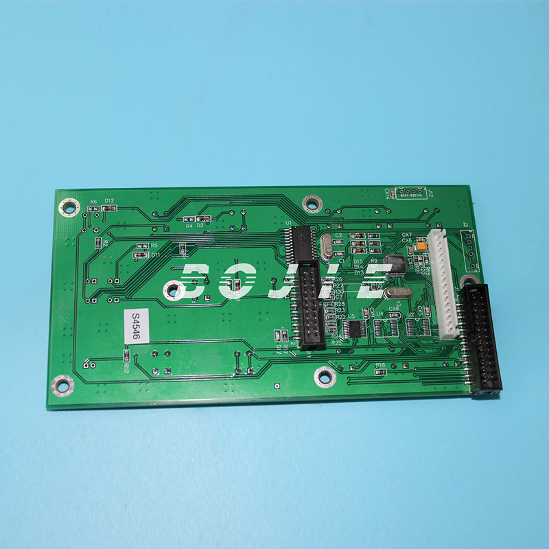 Control panel board for Xuli X6 solvent printer xuli eco solvent printer for epson printhead 5113 main board