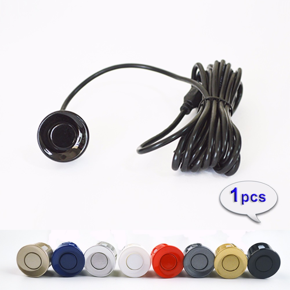 Hippcron Car Parking Sensor 22 Mm 1 Pcs Black Red Blue Silver Gold White Gray Champagne Color For Parking Monitor Reverse System