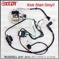 Wire Loom Key Solenoid Magneto Coil Regulator CDI 50cc 110cc 125cc ATV Quad Bike
