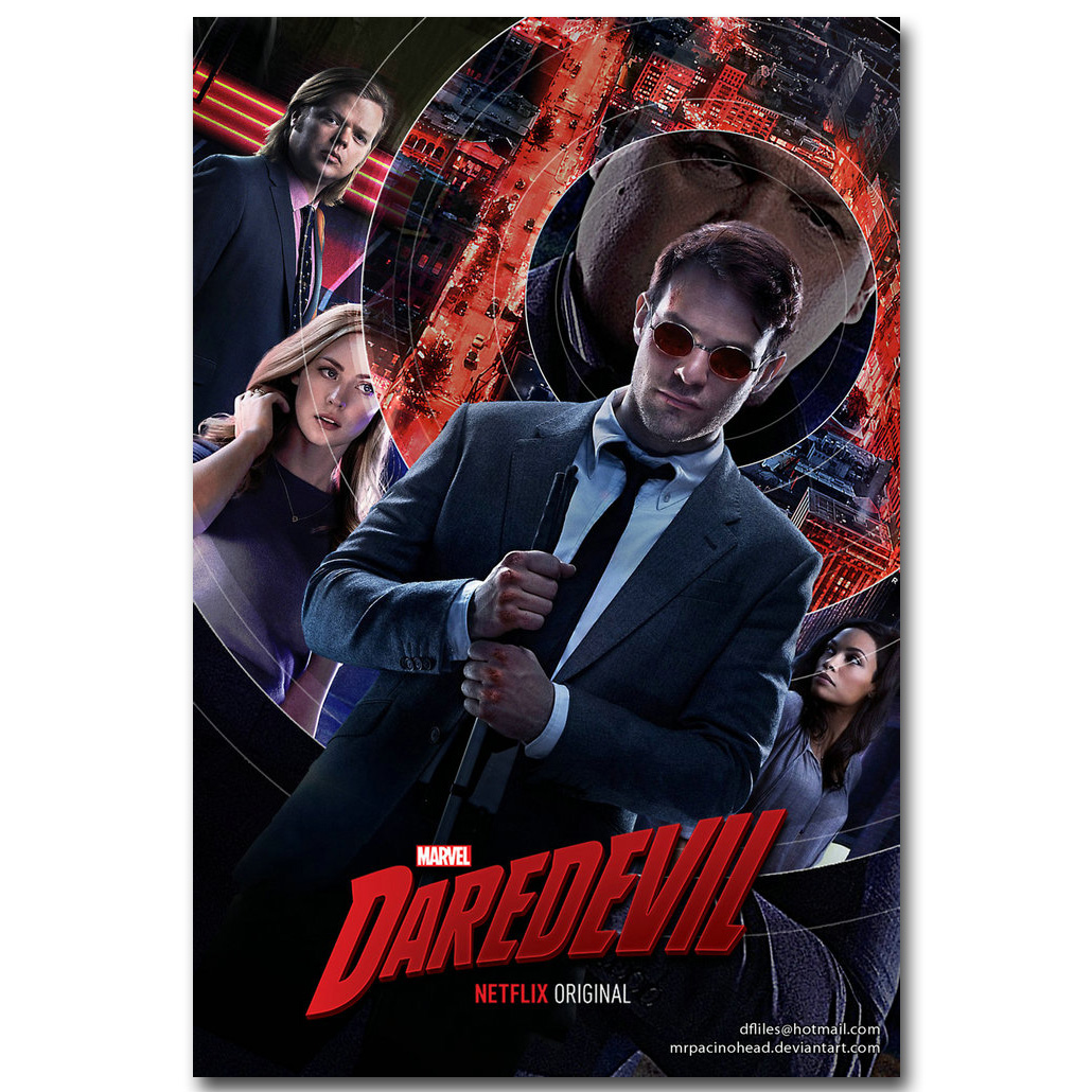 DAREDEVIL TV Show PHOTO Print POSTER Series Art Matt Murdock The Punisher 002