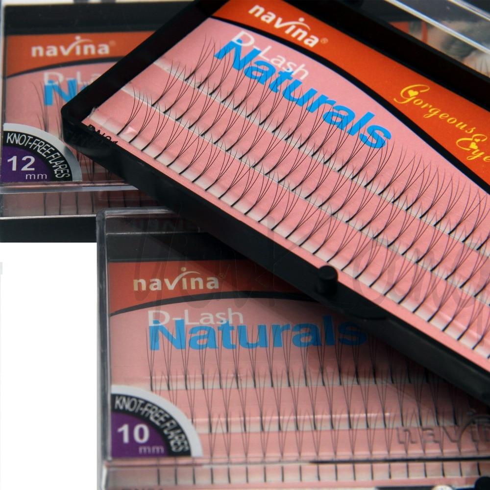 NAVINA 102 Tiras Falsas pestañas individuales D-Curl 0.12 mm grosor - Maquillaje - foto 4