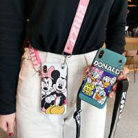 Pour iPhone XS max étui de dessin animé mignon, daisy Donald couverture arrière souple pour iPhone 8plus X XR 7 7plus 6 6S 6P coque de téléphone