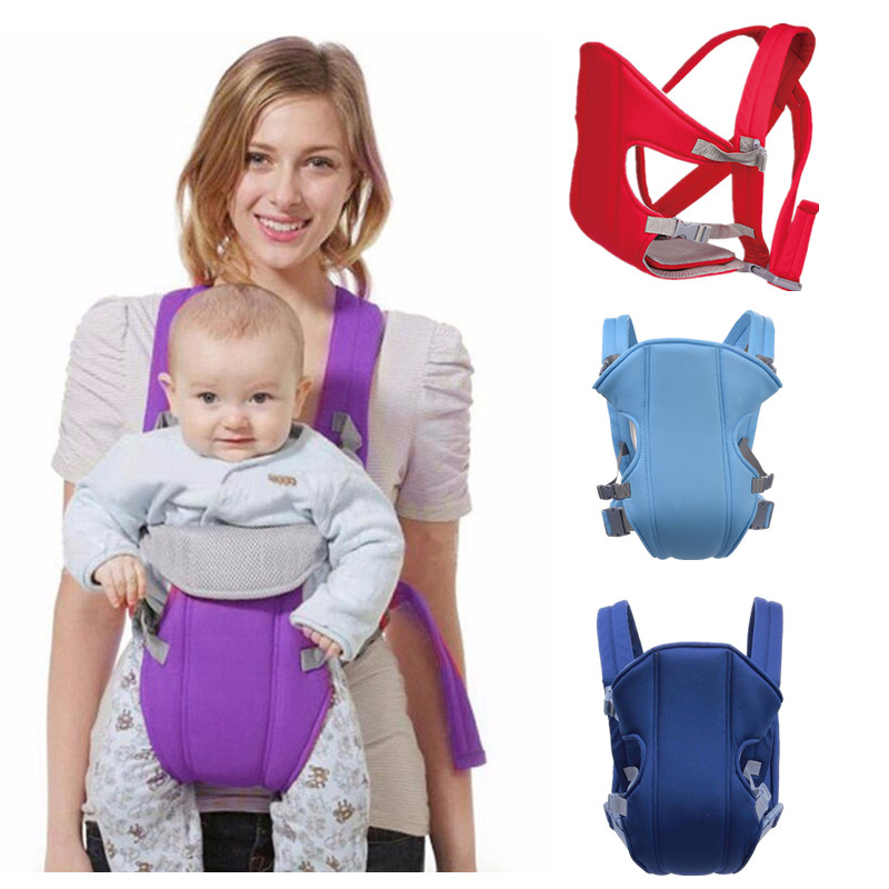 0-16M Baby Kangaroo Backpack Ergonomic Baby Carrier Wrap Breathable Sling Baby Carrier Waist Stool Adjustable Infant Hipseat