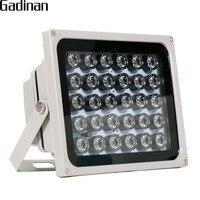 GADINAN 30 pcs LEDs 850nm IR Illuminator for Night Vision Waterproof LED Infrared Light for CCTV Security Surveillance Camera