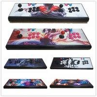 2 шт. Pandora's Box 5S Аркада консоли 999 в 1 Ретро игры металлические двойной палки консоли