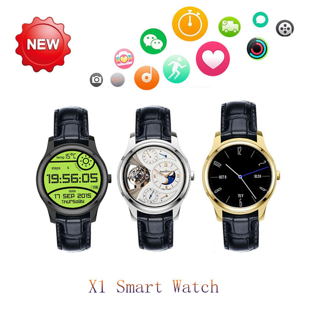 DMY New Original Circle Mini x1 3G Android Phone Smart Watch X1 smartwatch 1.3inch IPS Android 4.4 with GPS WIFI SIM Heart rate