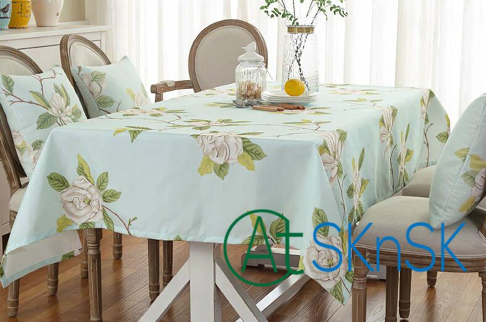 Главная Водонепроницаемый скатерть ткань oilproof Pad Anti Горячая прямоугольной кофе скатерти чайный столик стул cover 5 размеров
