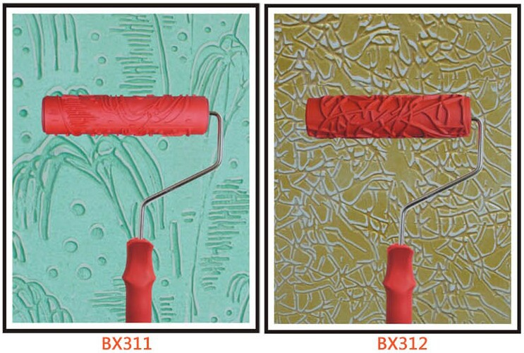 7u0027u0027 Inch Grain Paint Roller New Decorative Paint Roller DIY Tools Patterned Paint  Rollers For Home Decorations Wall Paint Tools In Paint Tool Sets From ...