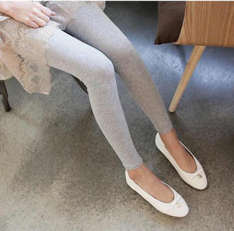 2014 NEUE Hohe Taille Fitness Grau Und Schwarz Leggings Für Frauen Frühling Herbst Design L-52