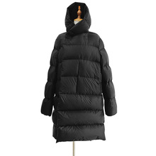 WSYORE Long Parka Women Black Down Jacket Female Winter New