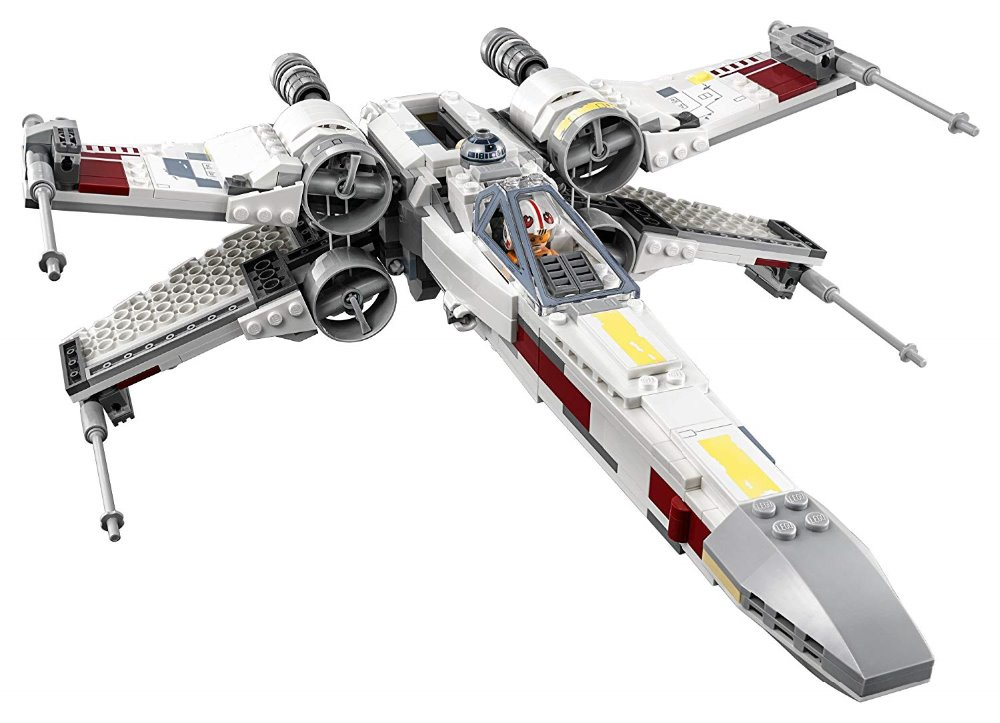 Lepin Starwars 05145 Star Plan Wars Fighter the X New Wing Starfighter Set Building Blocks 75218 Bricks Legoinglys Children Toys oleku hotsale star wars resistance x wing tie advanced prototype micro fighter starwars the wookiee gunboat building blocks toys