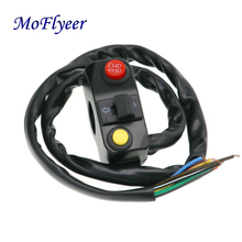 MoFlyeer Motorcycle Aluminum Alloy Multi-function Switch Universal Headlights Horn ON/OFF For 22mm Handlebar ATV Scooter