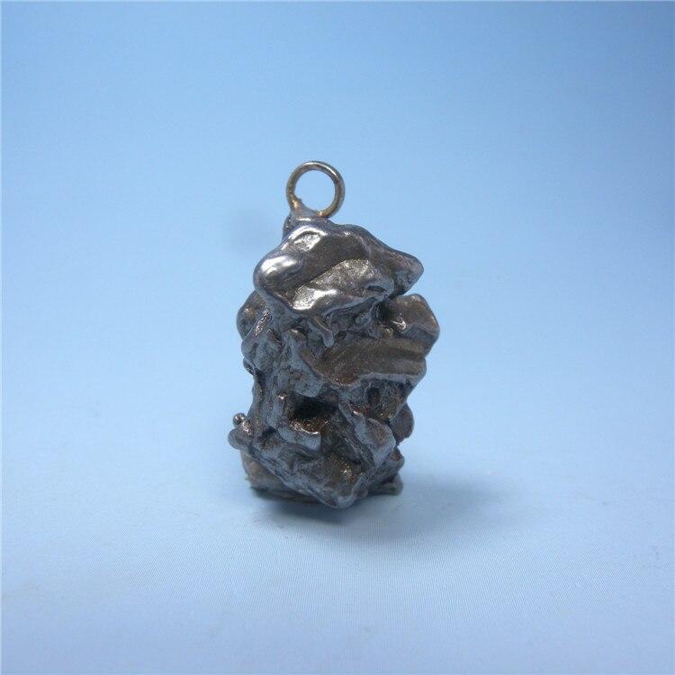 Аргентинская подвеска метеорит из натурального камня настоящий внеземный черный никель железо метеорит минеральные хрустальные образцы