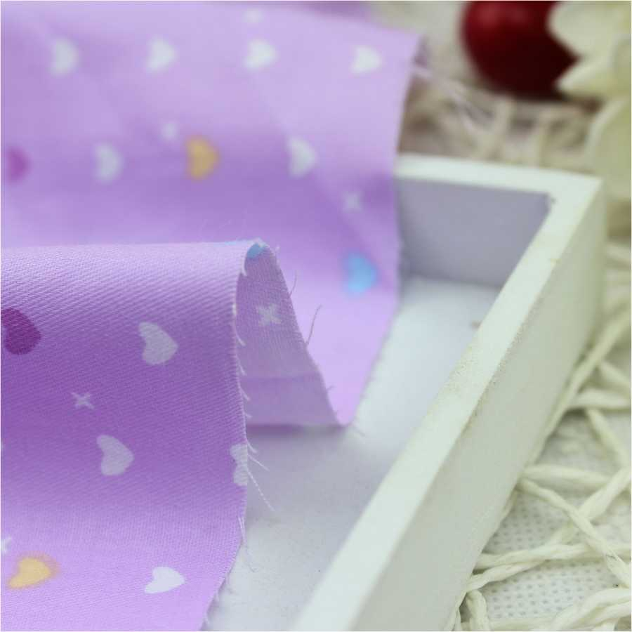 Tianxinyue 5 قطع الأرجواني 40*50 سنتيمتر 100% أكياس القطن النسيج diy الخياطة المرقعة الاطفال الفراش تيلدا دمية القماش المنسوجات المنزلية النسيج