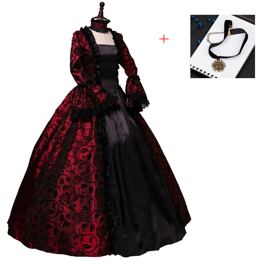 Renaissance Victorian Dress Ball Gown Vampire Halloween