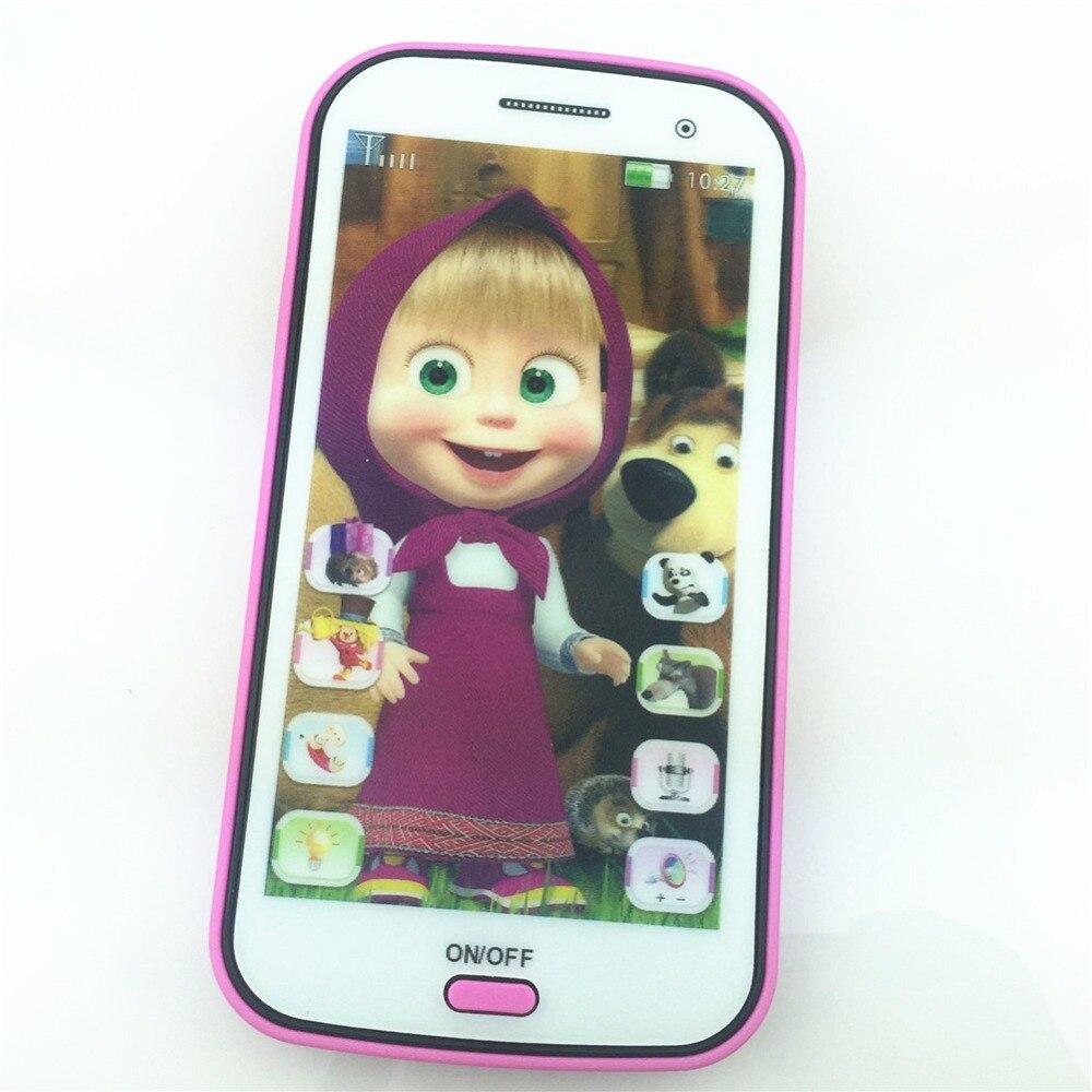 Russian Language Talking Masha And Bear Electronic Toys Learning