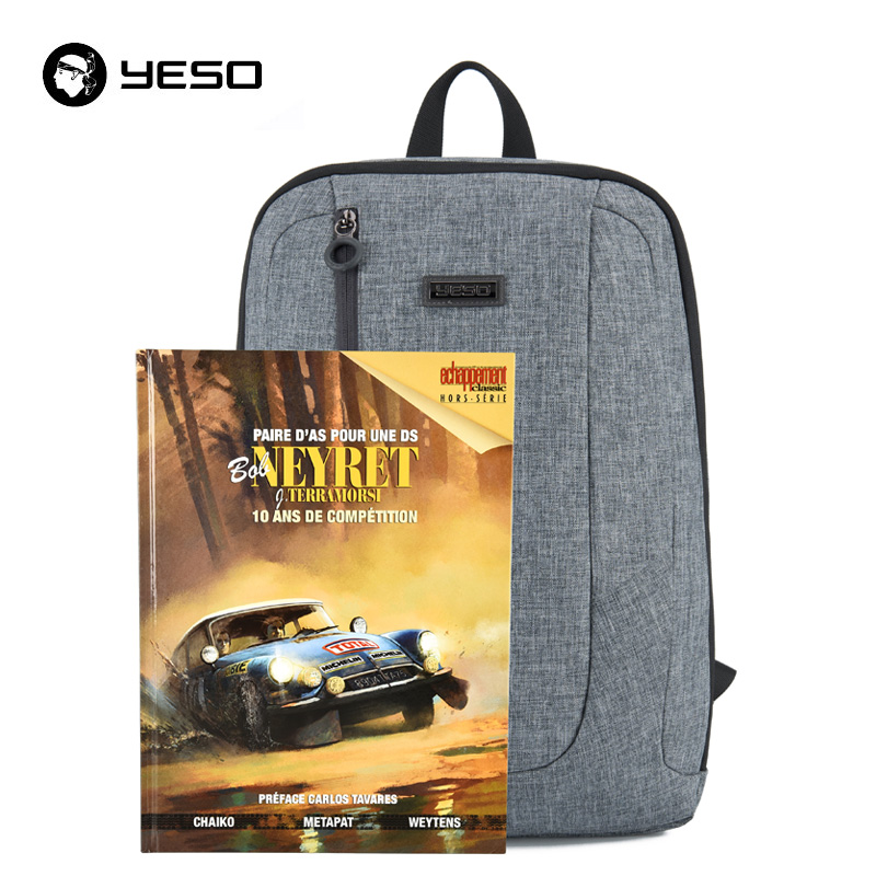YESO Men's Expandable Backpack 15.6 Inch Laptop Backpack for Women And Men School Backpacks Unisex Leisure Bag