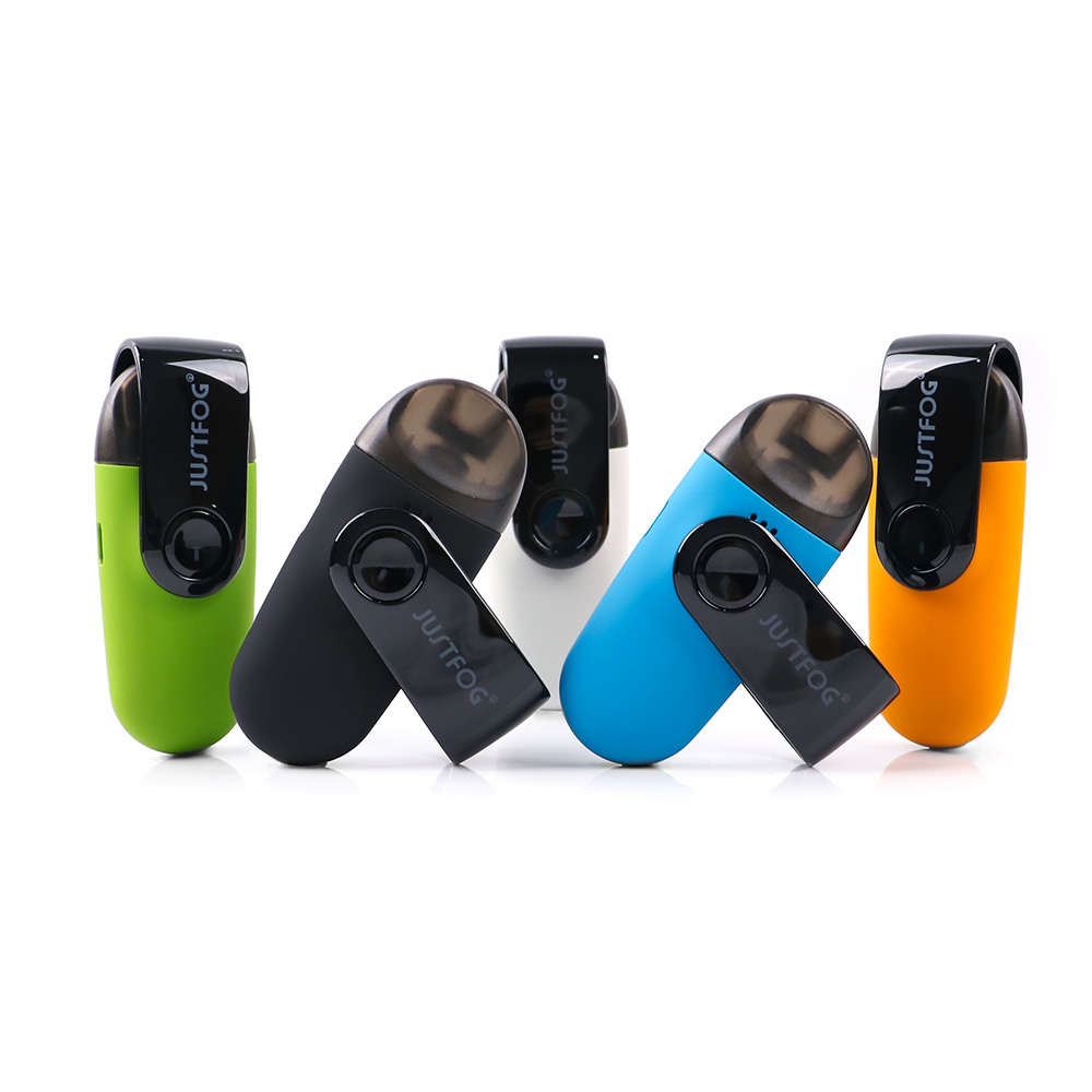 Bigsale Pod system Original Justfog C601 Kit with dust-proof cap 650mAh built-in battery Portable JUSTFOG Vape Kit