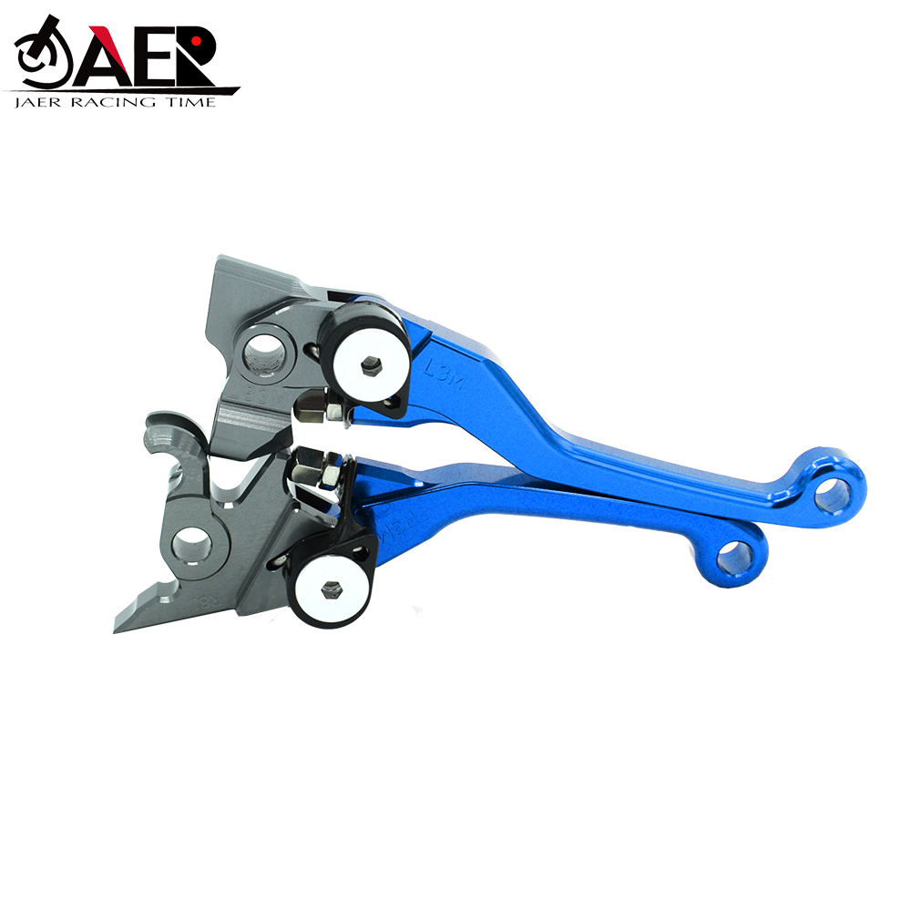 JAER Motorcycle Pivot Brake Clutch Levers For Yamaha YZ80 YZ85 2015 2016 2017 2018 2019 YZ65 2018-in Levers, Ropes & Cables from Automobiles & Motorcycles